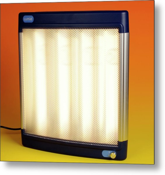 Halogen Heater Metal Print by Public Health England