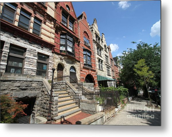 Hamilton Heights Houses Metal Print
