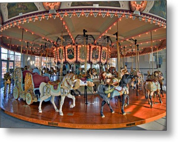 Hampton Carousel 2 Metal Print