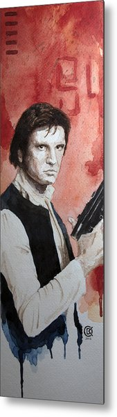 Han Solo Metal Print by David Kraig