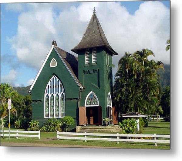 Hanalei Church Metal Print