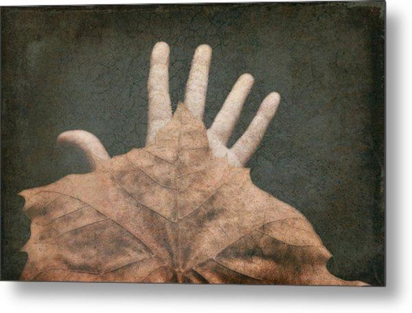 Hand Of Nature Metal Print