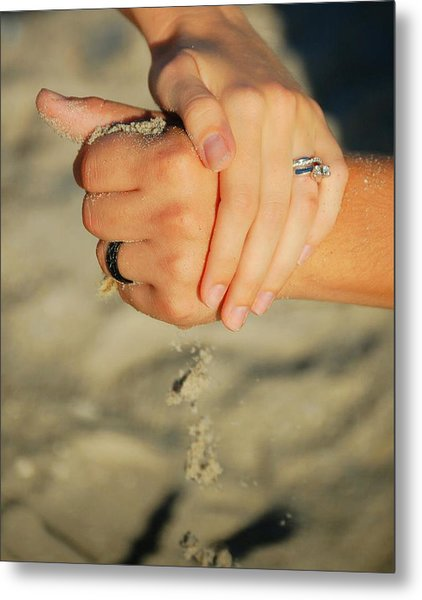 Hands Of Time Metal Print