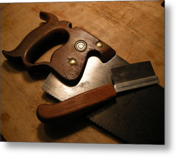 Hand Tools Metal Print by Garland Johnson