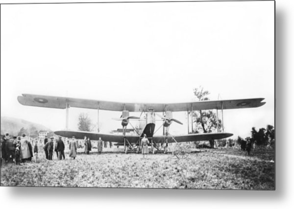 Handley Page Type O Bomber Metal Print by Library Of Congress