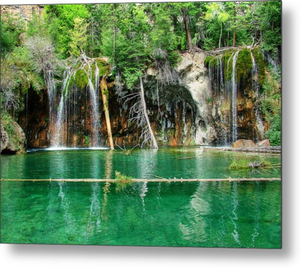 Hanging Lake 1 Metal Print