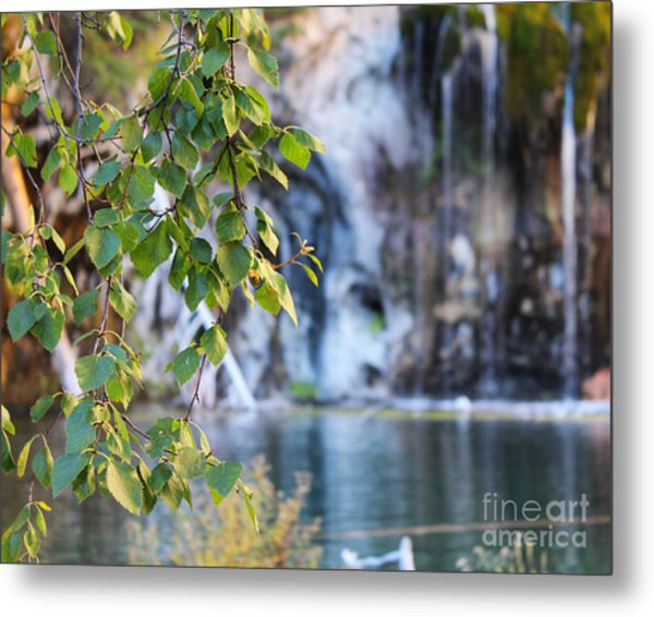 Metal Print featuring the photograph Hanging Lake 8x10 Crop by Kate Avery