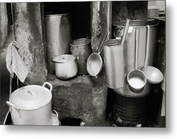 Hanoi Old City Metal Print