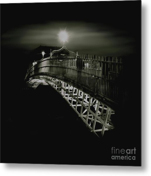 Ha'penny By Night Metal Print