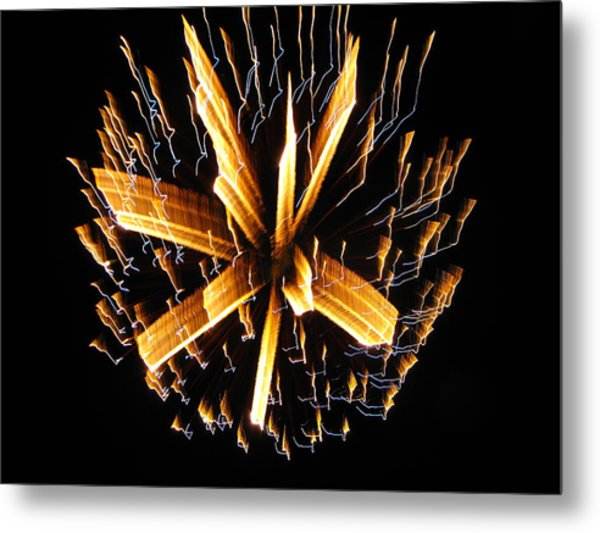 Happy 4th Of July Metal Print