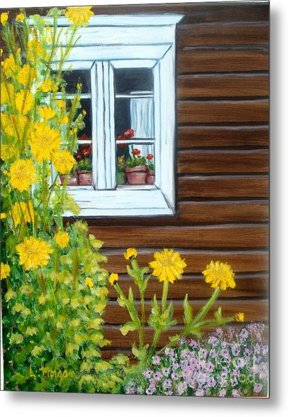 Happy Homestead Metal Print