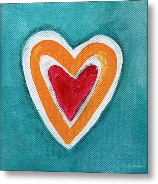 Happy Love Metal Print