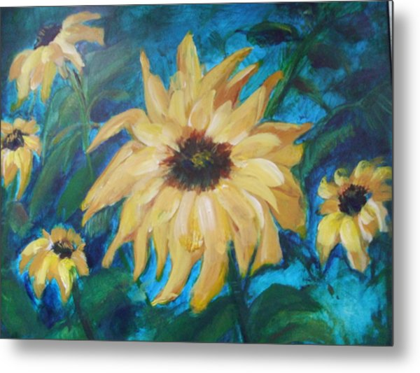 Happy Spring Metal Print