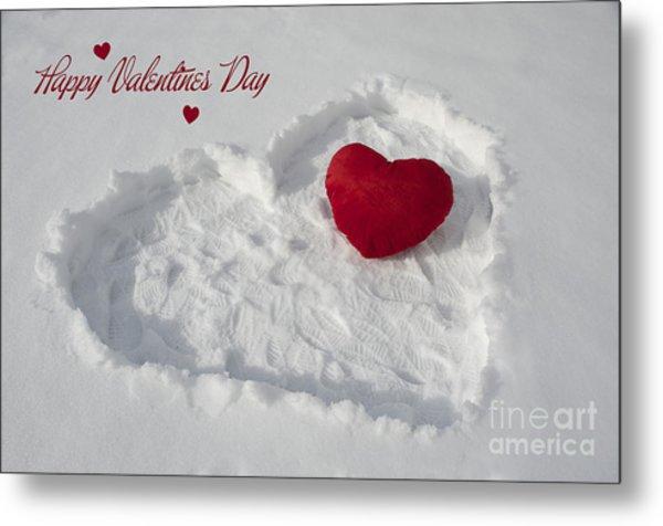 Happy Valentins Days Metal Print by Nicole Markmann Nelson
