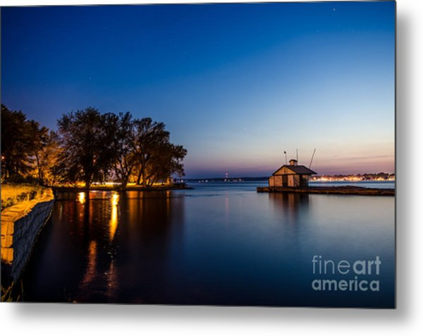 Harbor Master  Metal Print