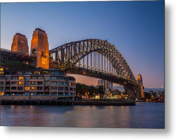 Harbour Bridge Metal Print by Dasmin Niriella