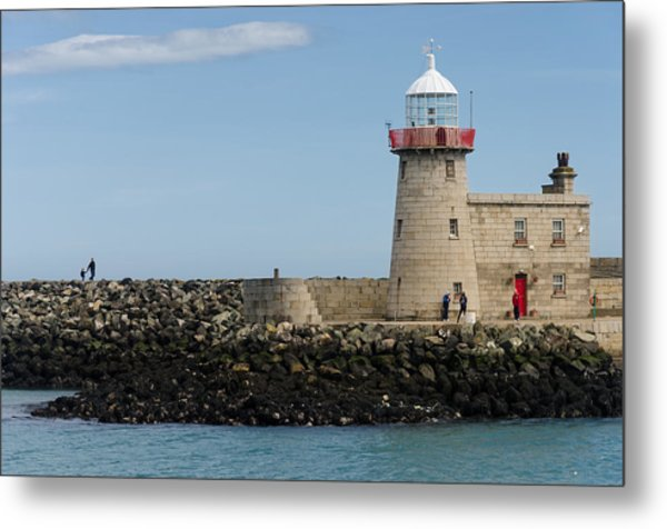 Harbour Entrance Metal Print