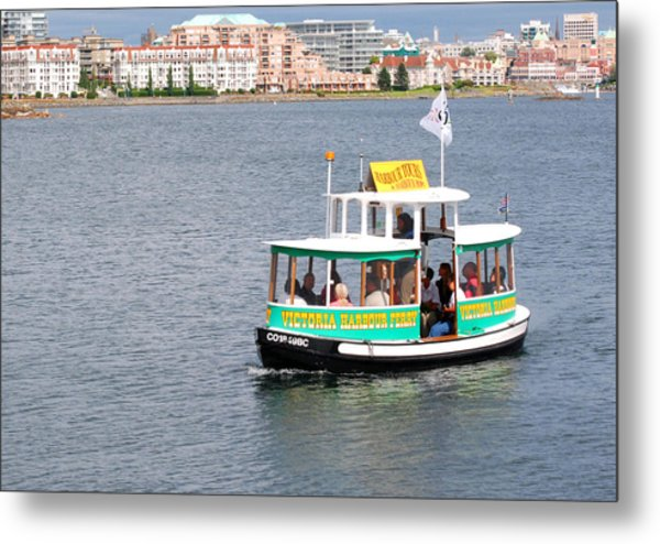 Harbour Ferry Metal Print by Mark Alan Perry
