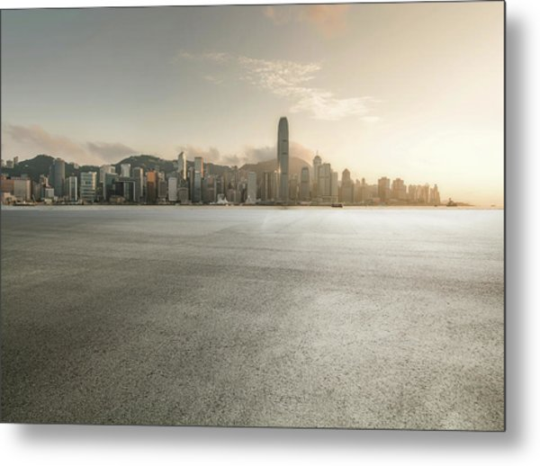 Harbour Metal Print by Yubo