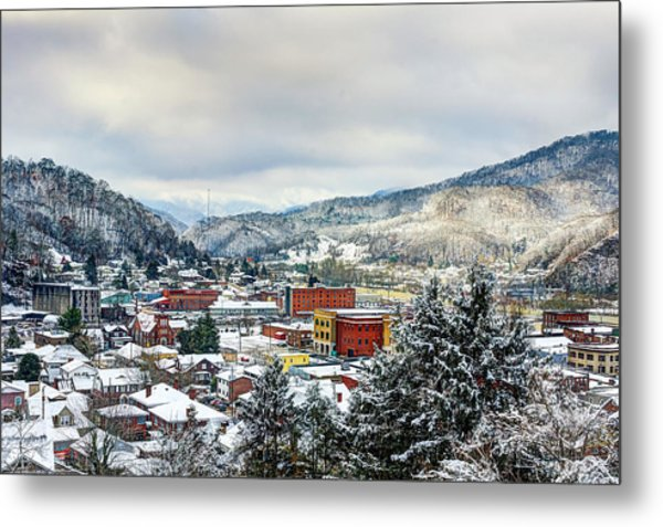 Harlan Ky Winter Metal Print