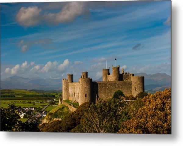Harlech Castle Metal Print by David Ross