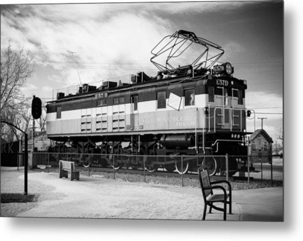 Harlo Train Metal Print by Paul Bartoszek