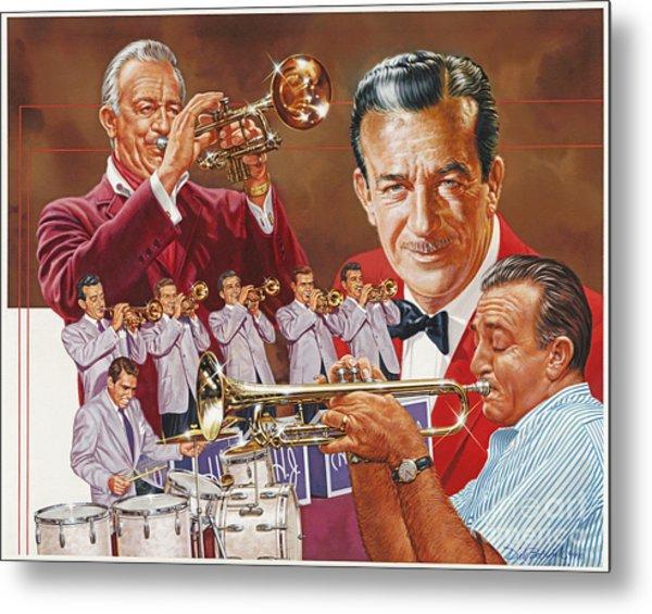 Harry James Trumpet Giant Metal Print