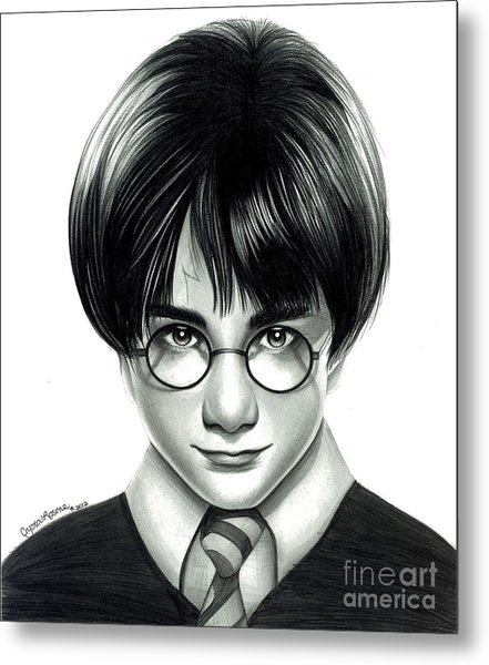 Harry Potter And The Philosopher's Stone Metal Print