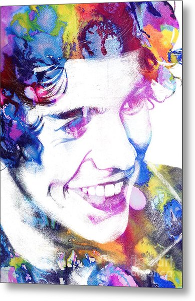 Harry Styles - One Direction Metal Print