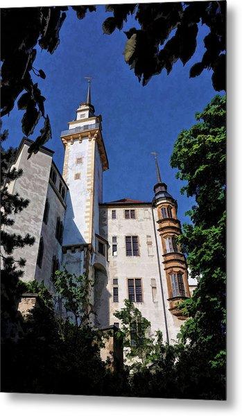 Hartenfels Castle - Torgau Germany Metal Print