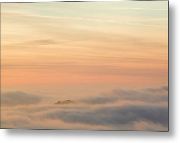 Harter Fell Above The Clouds Metal Print