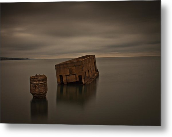 Harvey's Remains Metal Print by Michael Murphy