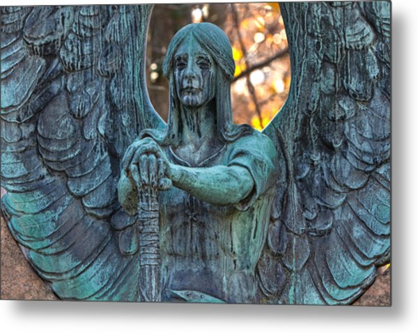 Haserot Angel Metal Print