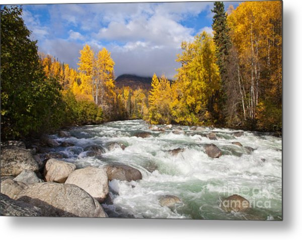 Hatchers Pass Metal Print