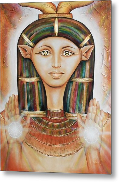 Hathor Rendition Metal Print