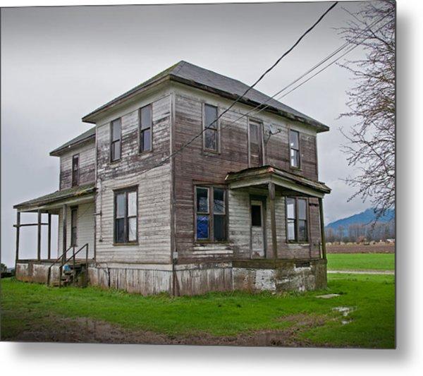 Haunted House Of Skagit County Metal Print by Kent Sorensen