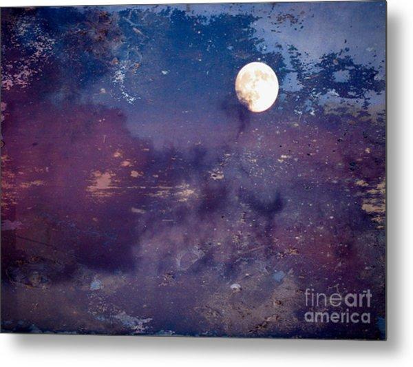 Haunted Moon Metal Print