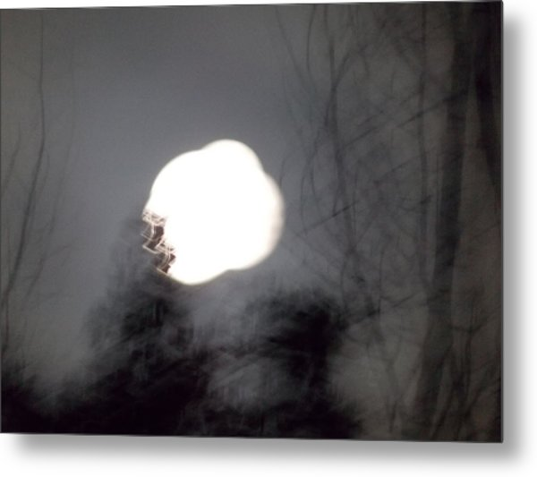 Haunted Night 2 Metal Print