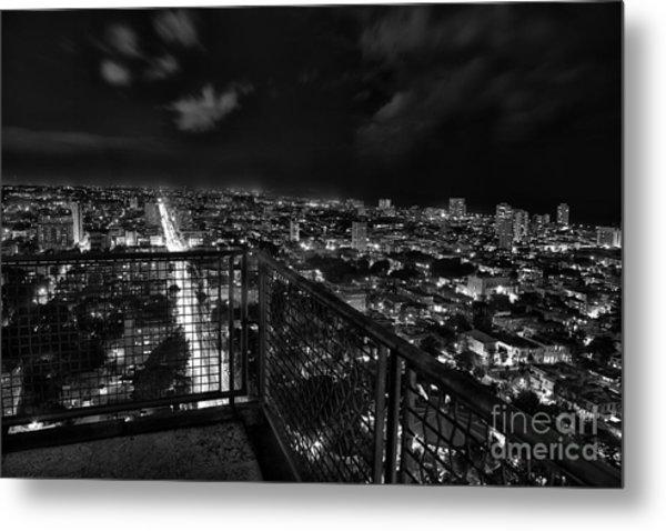 Havana At Night Metal Print