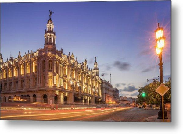 Havana, Cuba, The National Theater Metal Print by Buena Vista Images