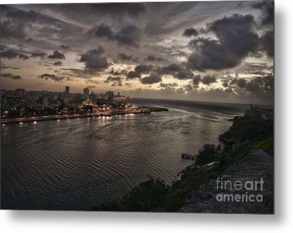 Havana Sunset Metal Print