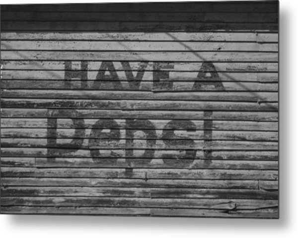 Have A Pepsi Metal Print by Steven  Taylor