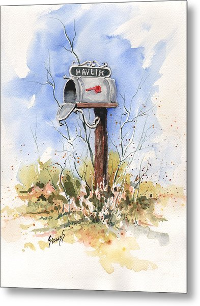 Havlik's Mailbox Metal Print
