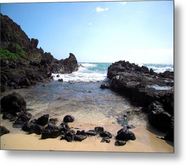 Hawaiian Beach Metal Print