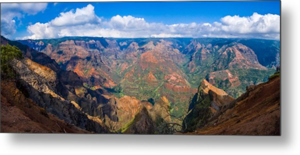 Hawaiian Grand Canyon Metal Print