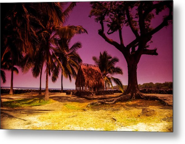 Hawaiian Jail Metal Print