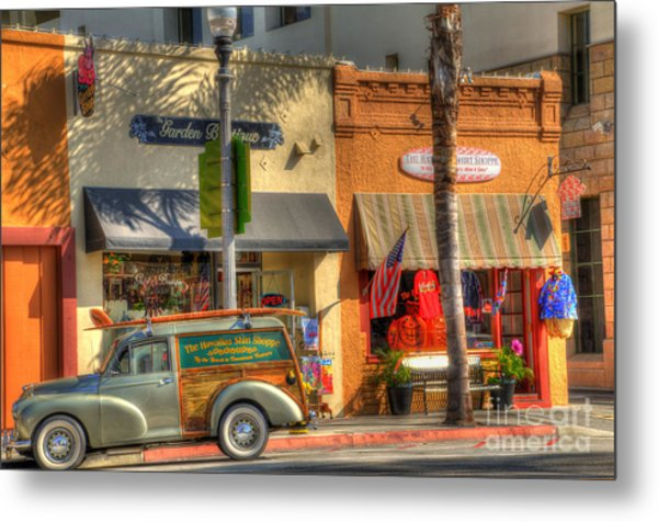 Hawaiian Shirt Shoppe Metal Print