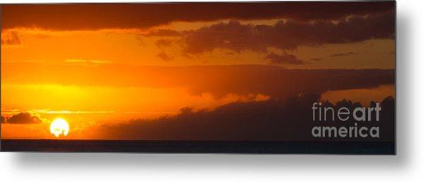 Hawaiian Sunset Metal Print