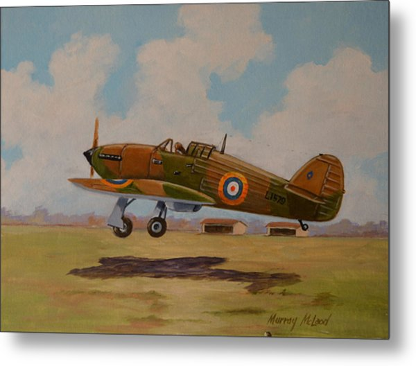 Hawker Hurricane Metal Print