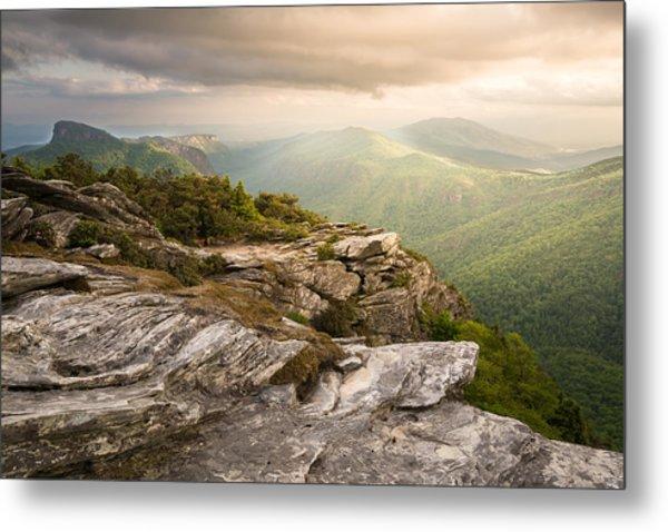 Hawksbill Mountain Sunset Metal Print
